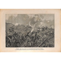 2272	 WWI print 1914/18-	german turkish line  Kaukasus russian attack	,size:	23,5 x 32,5 cm	, printed on normal paper-	,this pri