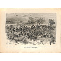 2275 WWI print 1914/18-Austro-Hungarian soldiers Isonzo battle,size:23,5 x 32,5 cm, printed on normal paper-,this print co