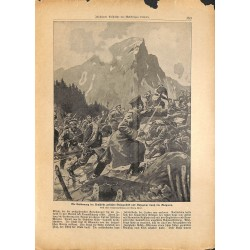 2284	 WWI print 1914/18-	Belogradcik Knjazeva Bulgaria storm soldiers	,size:	23,5 x 32,5 cm	, printed on normal paper-	,this pri