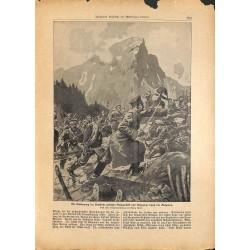 2284 WWI print 1914/18-Belogradcik Knjazeva Bulgaria storm soldiers,size:23,5 x 32,5 cm, printed on normal paper-,this pri
