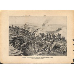 2285 WWI print 1914/18-Avalsberg austro-hungarian soldiers,size:23,5 x 32,5 cm, printed on normal paper-with cut,,this pri
