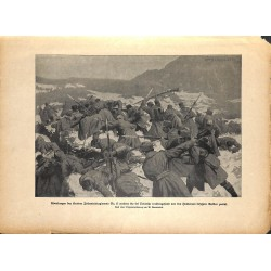 2303	 WWI print 1914/18-	Krainer Infantry regiment No. 17 Oslavija	,size:	23,5 x 32,5 cm	, printed on normal paper-	,this print