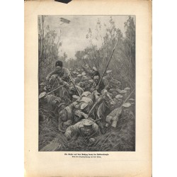 2305	 WWI print 1914/18-	Nokitno swamps russian soliders retreat	,size:	23,5 x 32,5 cm	, printed on normal paper-	,this print co