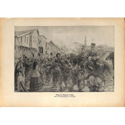 2306 WWI print 1914/18-Nisch bulgarian soldiers,size:23,5 x 32,5 cm, printed on normal paper-,this print comes from the ge