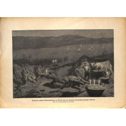 2312 WWI print 1914/18-Sereth tactic austro hungarian trick russian artillery fire,size:23,5 x 32,5 cm, printed on normal p
