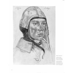6011-WWII Wolf WillrichJagdflieger HeilmayerAce Luftflottedrawing