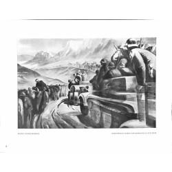 6016-Break through Wehrmacht soldiers WWII Burgund gateby Rudolf Hengstenbergpainting