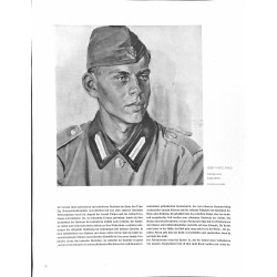 6026-WWII Vormann RADby Josef Vietze,Prag 1940aquarellVintage German print