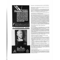 6029-Adolf Hitler bust porcelain advertisement Rosenthalby Professor O.Gessneradvertisement for bust