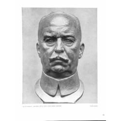 6037-WWI General Erich von Ludendorffby Fritz Klimschbronce bust