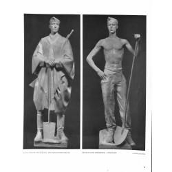 6051-WWII RAD soldier uniformby Fried Heulersculpture