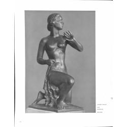 "6055-""Der Morgen"" naked girlby Alfred Thielesulpture"