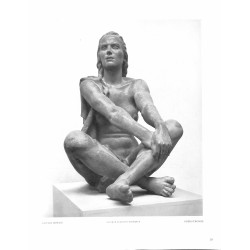 "6073-naked girl ""Ausblickende""by Anton Grauelsculpture"