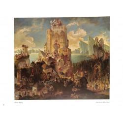 "6074-German fairytale ""Deustche Märchen""by Franz Weisscolor painting"