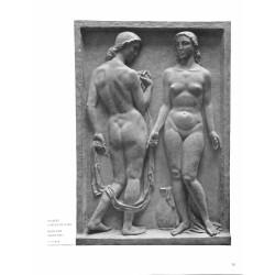 """6075-bath naked girls """"Badende Mädchen""""by Hubert Nikolaus Langrelief"""