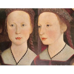 6092-two girlsby unknowncolor painting