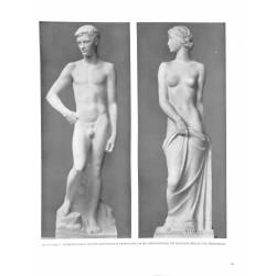 6093-naked boy and girl for the stair run in Reichsminiterium für Volksaufklärungby Fritz Klimschsculptures