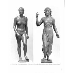 """6095-""""Aufsteigende"""" & """"Schwäbisches Lied""""by Richard Scheibe & Phillip Flettnersculptures"""