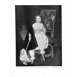 6100-little girl by Ferdinand von Rayskipainting