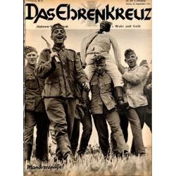 6603 No. 39-1936 DAS EHRENKREUZ - Illustrierte für Volk und Wehr -