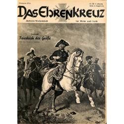 6610 No. 34-1936 DAS EHRENKREUZ - Illustrierte für Volk und Wehr -