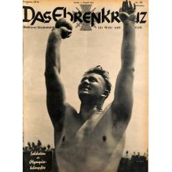6611 No. 32-1936 DAS EHRENKREUZ - Illustrierte für Volk und Wehr -