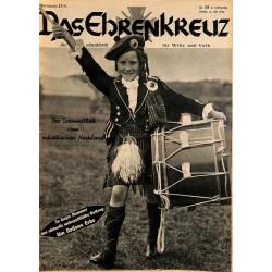 6618 No. 28-1936 DAS EHRENKREUZ - Illustrierte für Volk und Wehr -