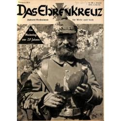 6628 No. 20-1936 DAS EHRENKREUZ - Illustrierte für Volk und Wehr -