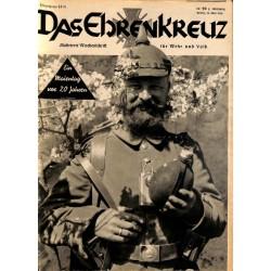 6629 No. 20-1936 DAS EHRENKREUZ - Illustrierte für Volk und Wehr -