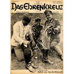 6641 No. 37-1936 DAS EHRENKREUZ - Illustrierte für Volk und Wehr -