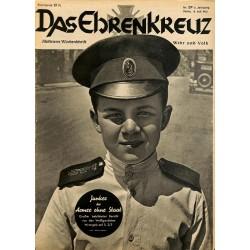 6642 No. 29-1936 DAS EHRENKREUZ - Illustrierte für Volk und Wehr -