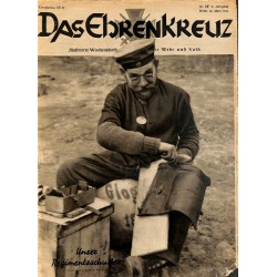 6648 INCOMPLETE No. 12-1936 DAS EHRENKREUZ - Illustrierte für Volk und Wehr -
