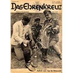 6663 No. 37-1936 DAS EHRENKREUZ - Illustrierte für Volk und Wehr -