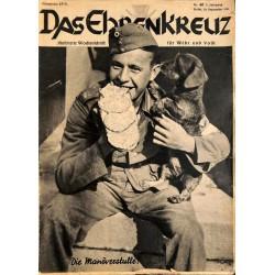 6664 No. 40-1936 DAS EHRENKREUZ - Illustrierte für Volk und Wehr -