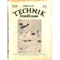 7578 ILLUSTRIERTE TECHNIK FÜR JEDERMANN No.  9-1926