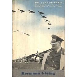 7881 DIE JUNGENSCHAFT No.  3-1937- 24.Februar Hermann Göring