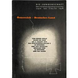 7882 DIE JUNGENSCHAFT No.  4-1937- 10.März Österreich - Deutsches Land