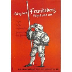 7890 DIE JUNGENSCHAFT No.  15-1937- 27.Oktober Georg von Frundsberg führt uns an!