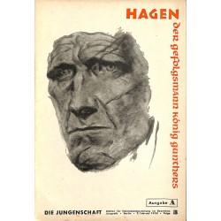 7899 DIE JUNGENSCHAFT No.  3-1938 Ausgabe A- 9.Februar Hagen der Gefolgsmann König Gunthers