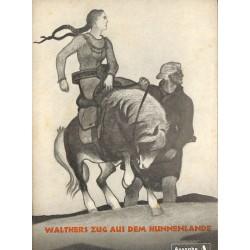 7901 DIE JUNGENSCHAFT No.  4-1938 Ausgabe A- 23.Februar Walthers Zug aus dem Hunnenlande