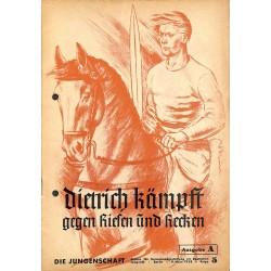 7902 DIE JUNGENSCHAFT No.  5-1938 Ausgabe A- 9.März Dietrich kämpft gegen Riesen und Recken