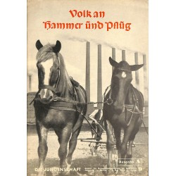 7909 DIE JUNGENSCHAFT No.  9-1938 Ausgabe A- 4.Mai Volk an Hammer und Pflug