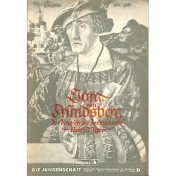 7923 DIE JUNGENSCHAFT No.  9-1939 Ausgabe A- 8.Februar  Jörg von Friedrichsberg der deutschen Landsknecht' lieber Vater