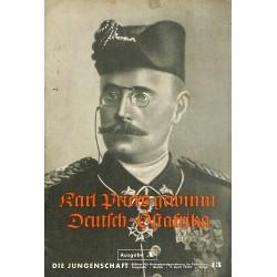 7927 DIE JUNGENSCHAFT No.  13-1939 Ausgabe A- 5.April Karl Peters gewinnt Deutsch-Ostafrika