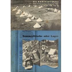 7943 DIE KAMERADSCHAFT No.  13-1936- 22.Juli Sommerfrische oder Lager