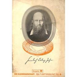 7956 DIE KAMERADSCHAFT No.  4-1938 Ausgabe B- 23.Februar Friedrich Ludwig Jahn