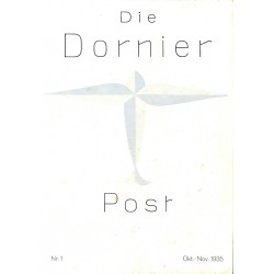 8501 DIE DORNIER-POST No.  1-1935 Oktober/November