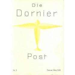 8503 DIE DORNIER-POST No.  3-1936 Februar/März
