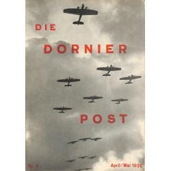 8504 DIE DORNIER-POST No.  4-1936 April/Mai