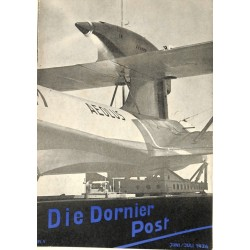 8505	 DIE DORNIER-POST	 No. 	 5-1936 Juni/Juli